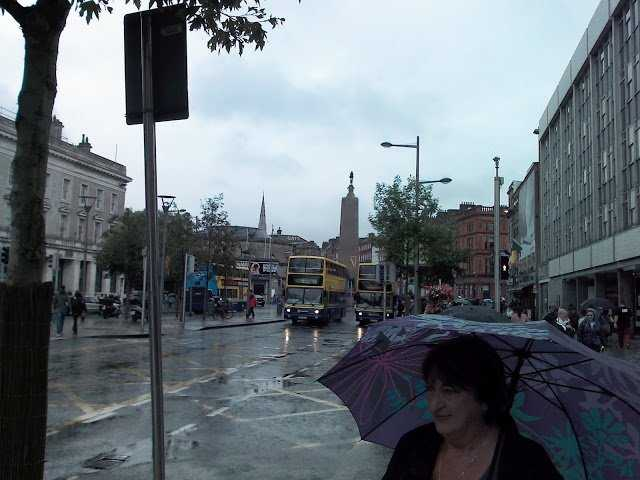 Dublin - Photo 8 of O'Connoly street near the Spire