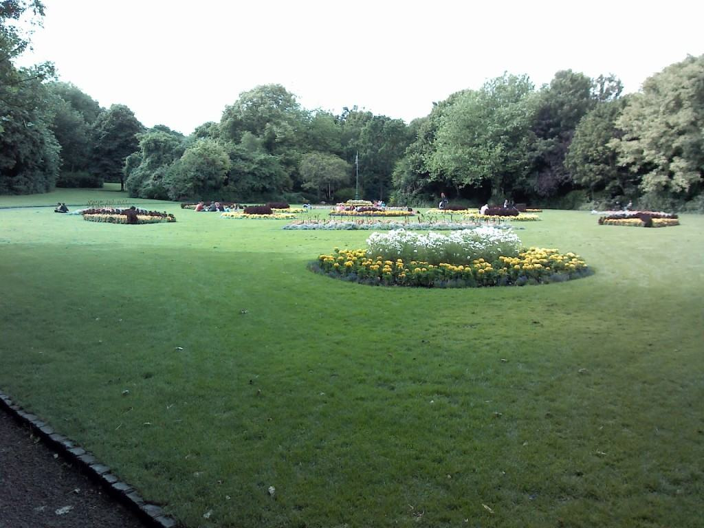 Park Merrion Square, Dublin, Ireland.