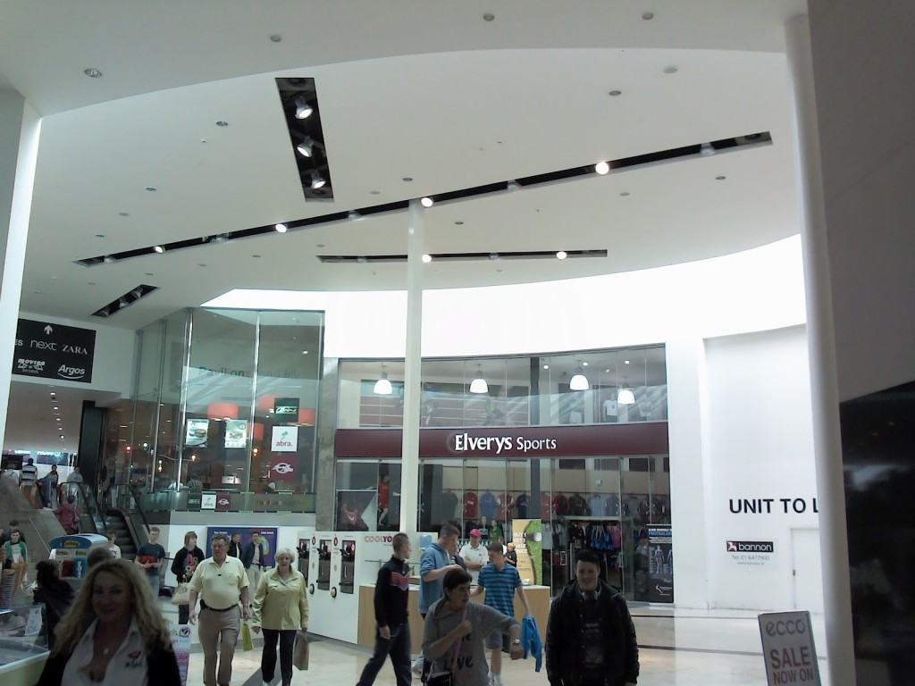 Huge shopping mall Swords Pavilions