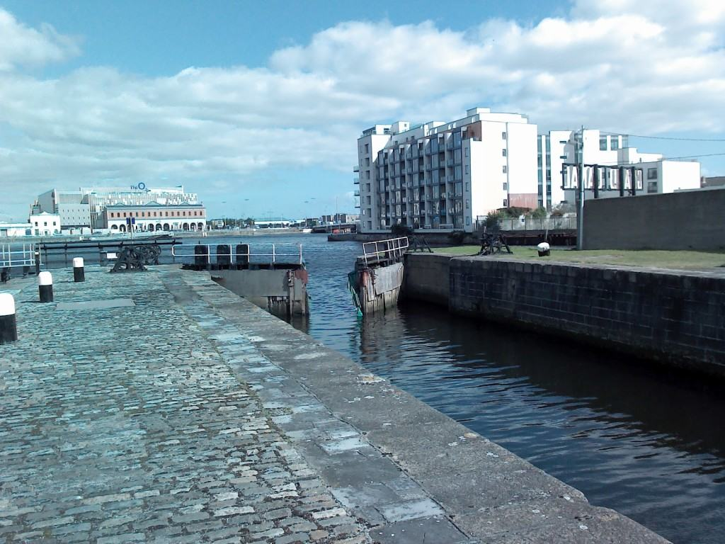 Photos of Grand Canal Docks, Dublin, Ireland.