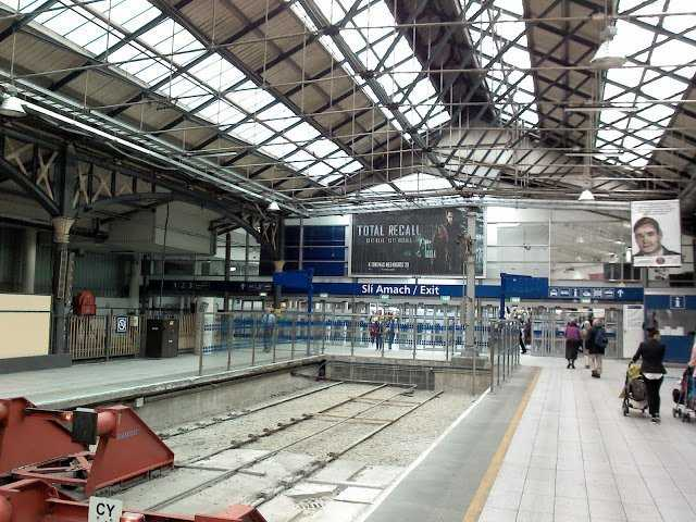 O'Connoly Train Station Dublin Ireland.