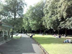 The park of St Stephen's Green, Dublin, Ireland-pic-6