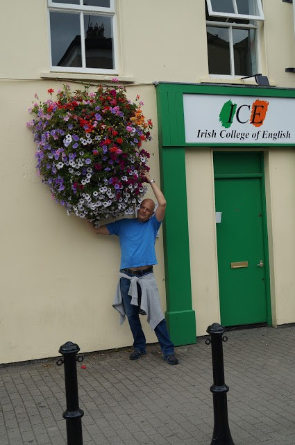 Oleksii Pieshkov at ICE College in Ireland - photo 2