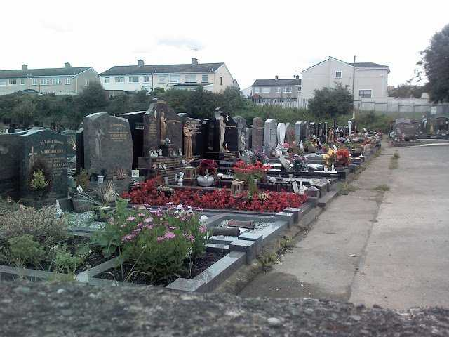 Irish cemetery, Swords, Ireland.