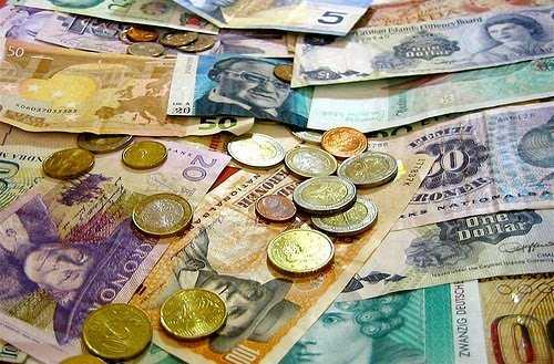 currency exchange rate in ireland
