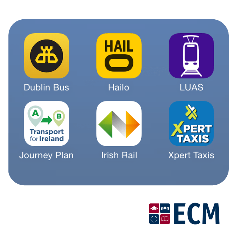 mobile transportation apps in ireland