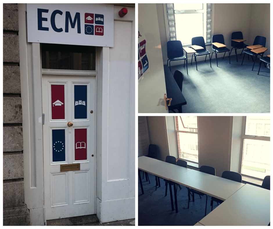 ECM College NEW PREMISES in Dublin, Ireland.
