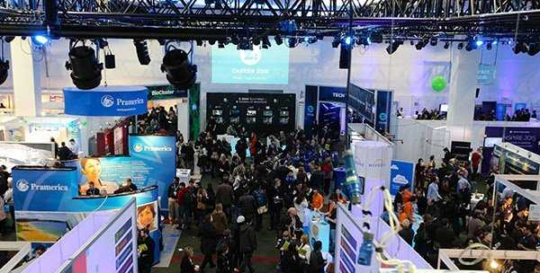 IrishJobs.ie at Career Zoo, 2015 in Dublin, Ireland.