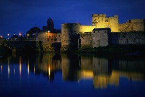 King John Castle in Limerick in Ireland.