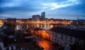 Limerick City in Ireland.