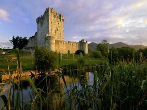 Castle Ross in Killarney, Ireland.