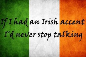 Irish talking