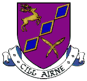 Killarney coat of arms, Ireland.