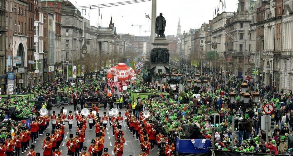 Saint Patricks Day Dublin Ireland 2016