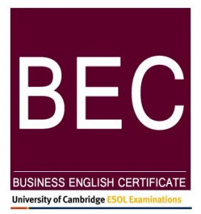 Cambridge Business Certificates – BEC