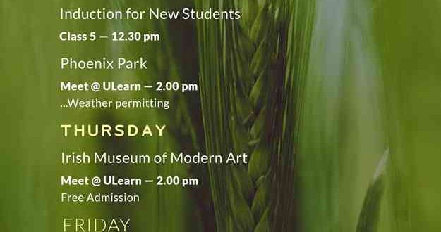 Ulearn Whats On 15-21 August 2016.