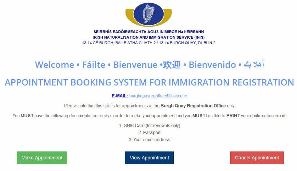Appointment Management System in Ireland.